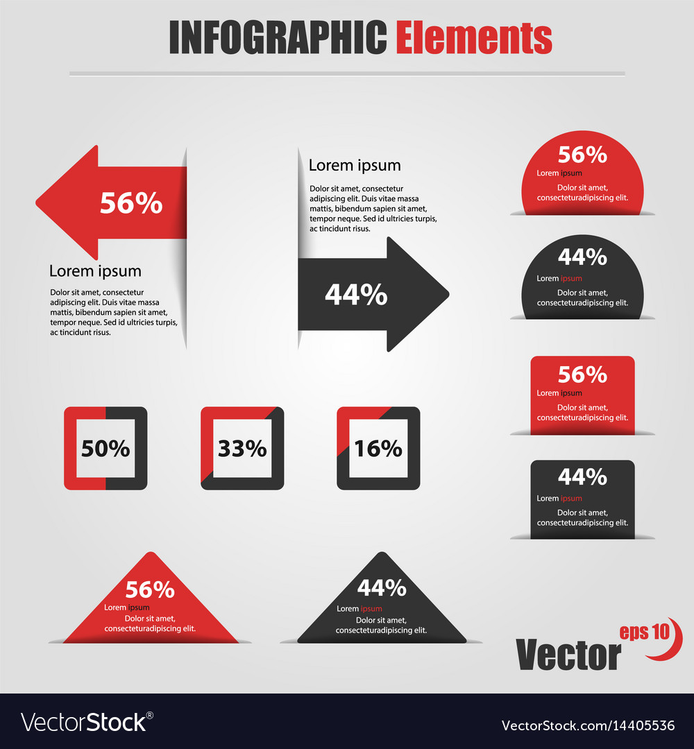 Infographic elements information graphics