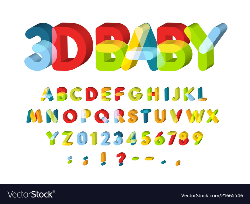 3d alphabet for baby zone decoration kids zone