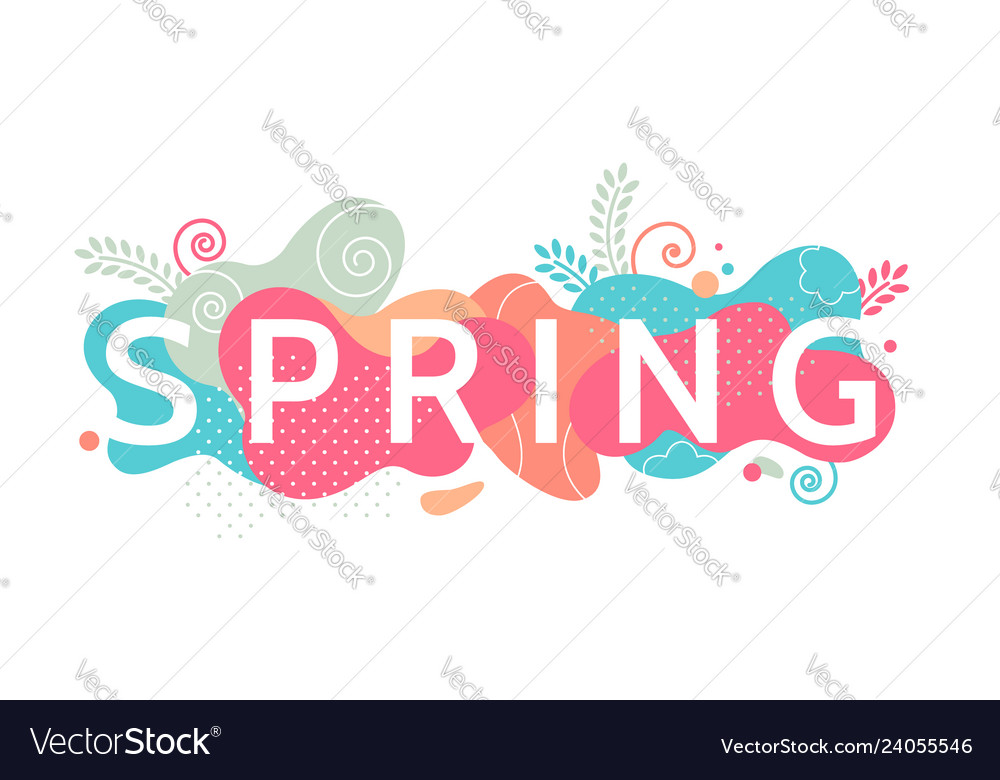Colorful decorative banner element