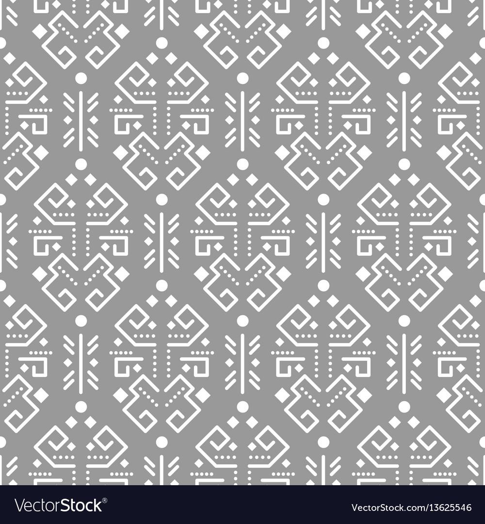 Tribal ornament seamless pattern