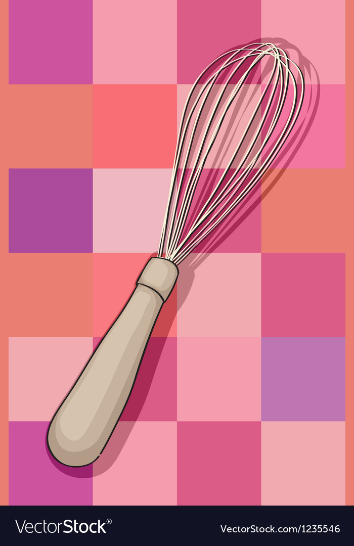 Whisk vector image