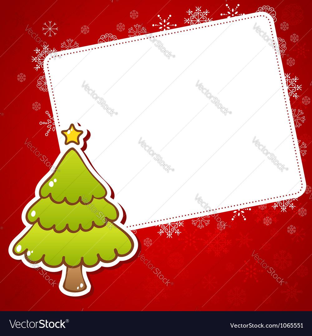 Beautiful Christmas Greeting Card Royalty Free Vector Image