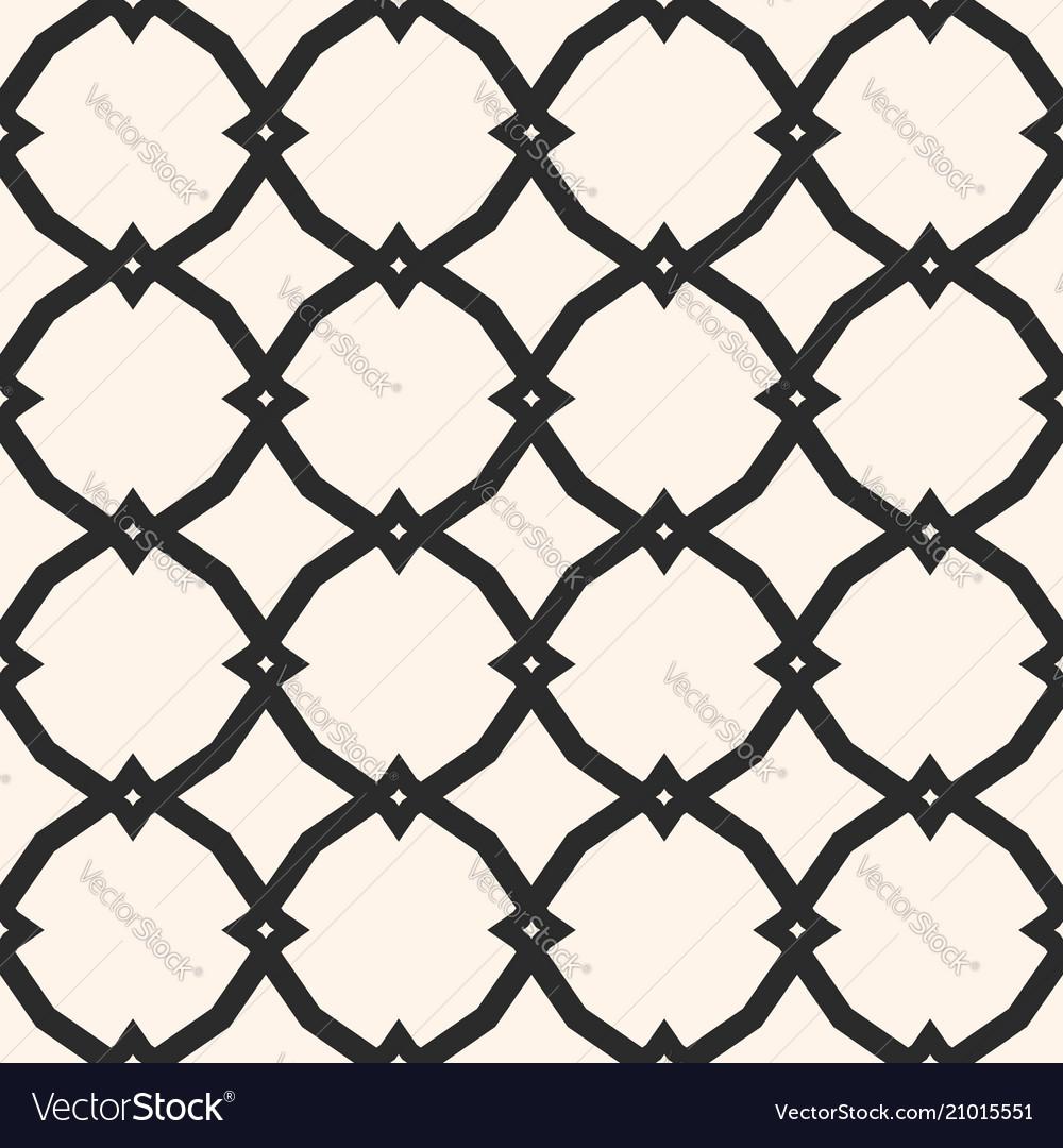 Black and white ornamental seamless pattern