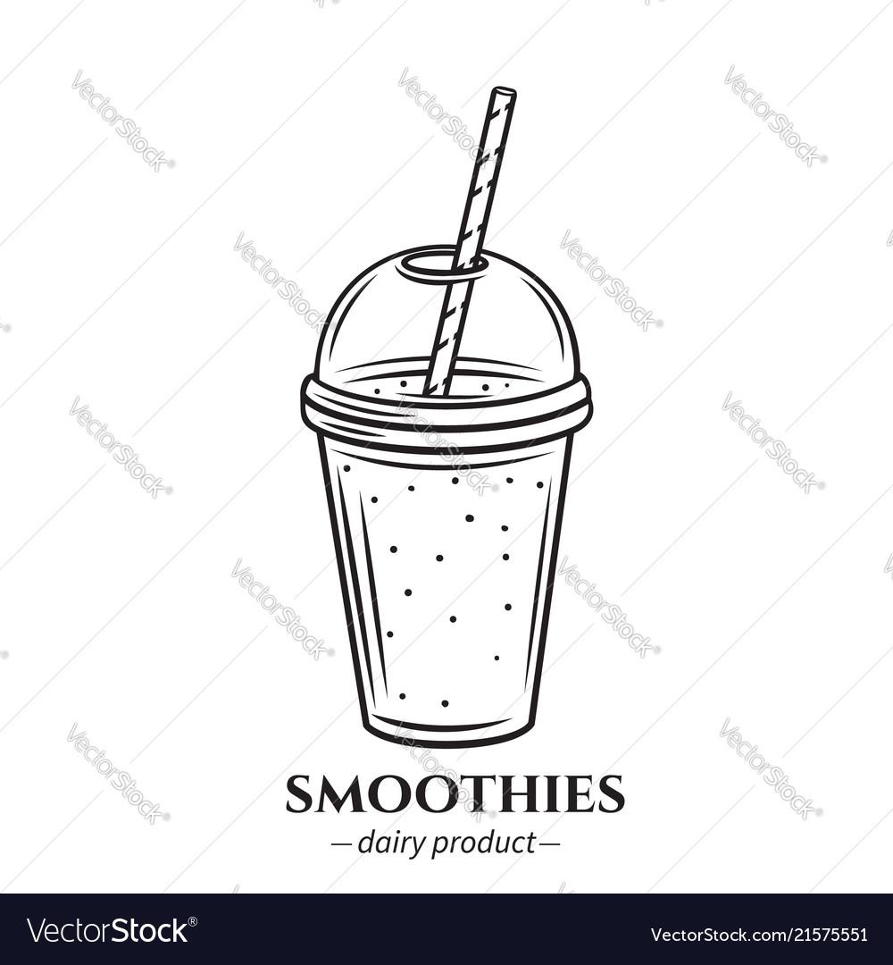 Outline smoothies icon