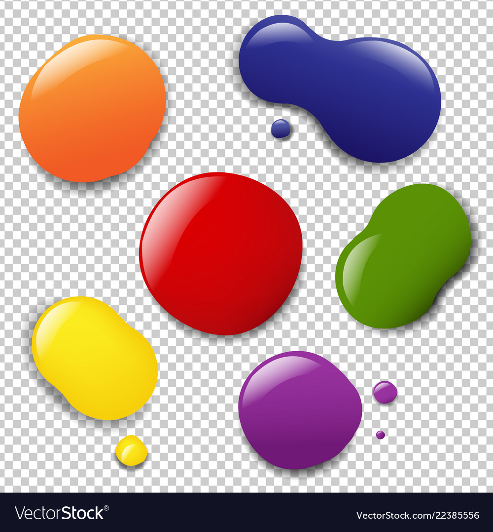 Colorful blobs set