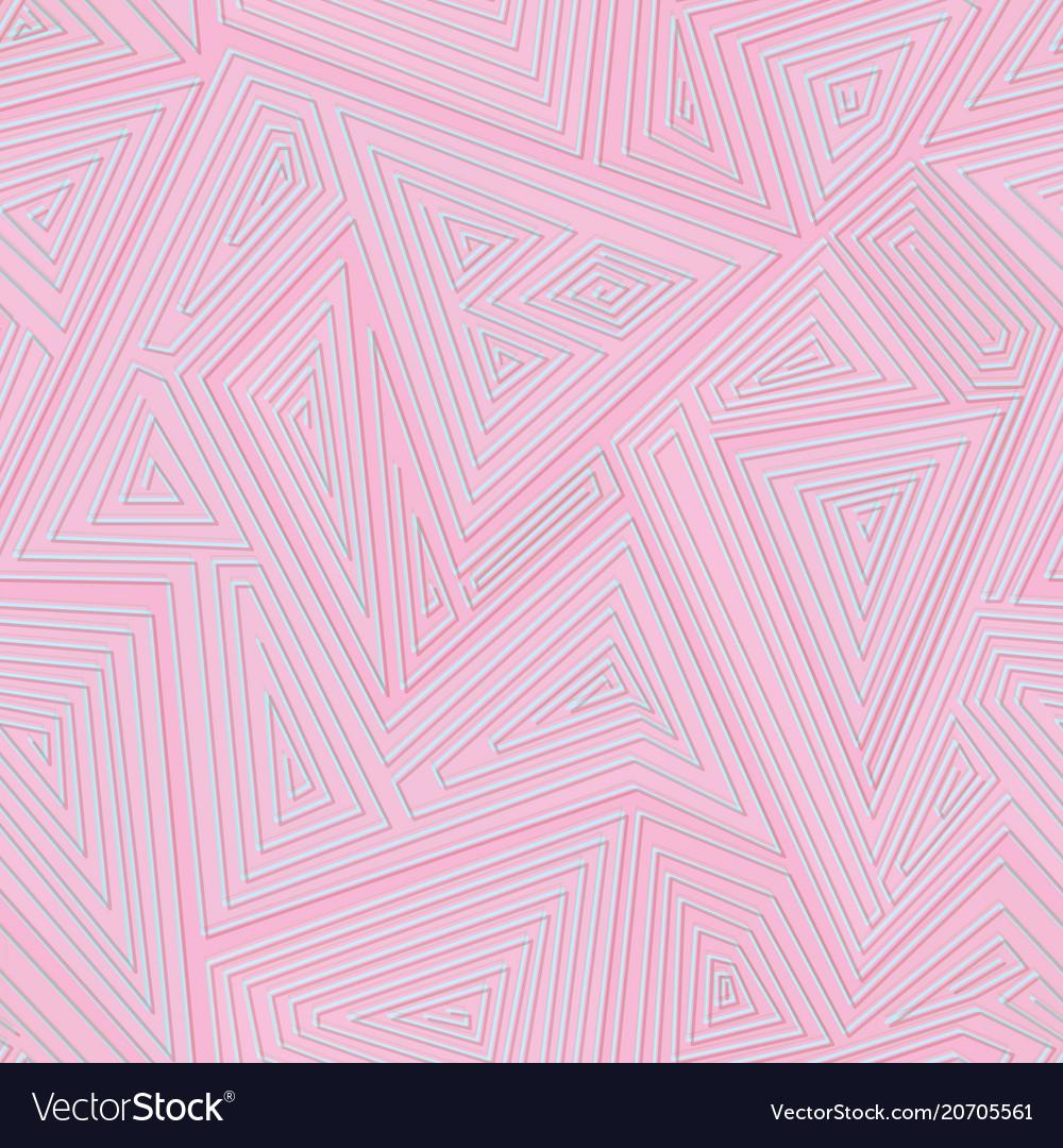 Pink color retro geometric texture