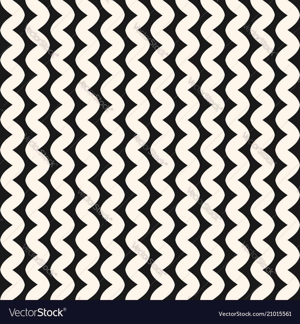 Vertical wavy lines seamless pattern minimalist