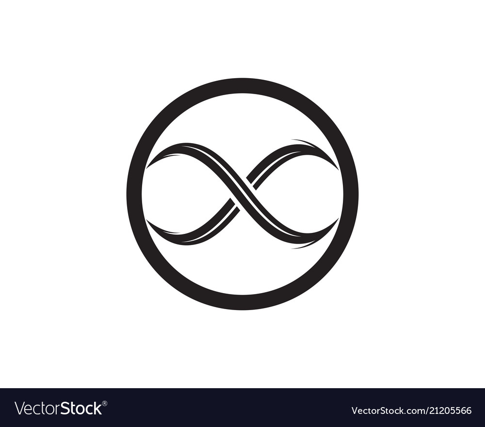 Infinity Logo And Symbol Template Icons Vector Image