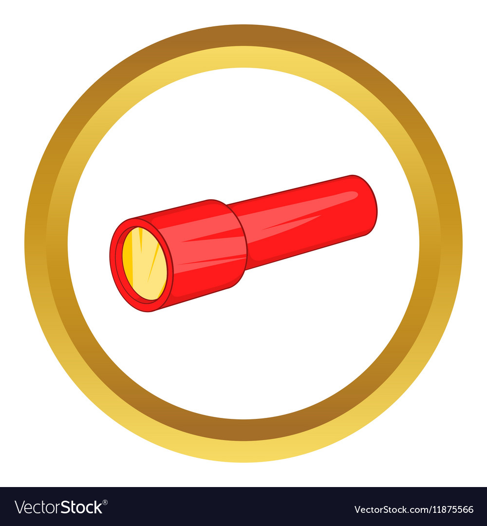Red flashlight icon