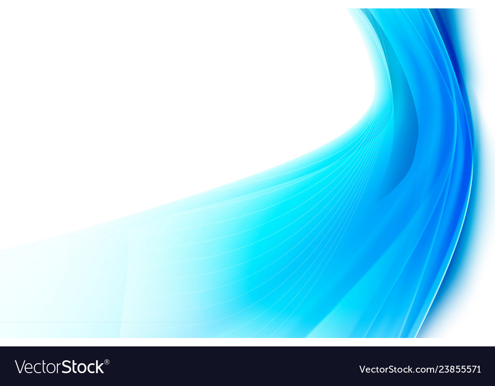 Abstract background smooth blue curve and blend