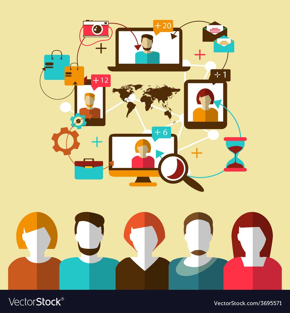 Communication Social network