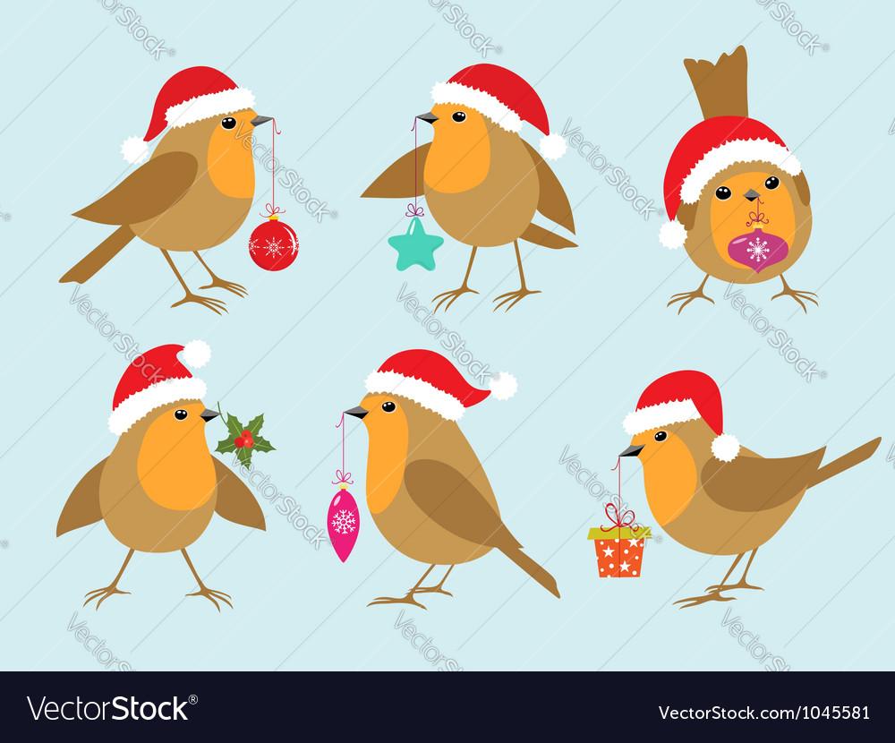 Christmas Robins