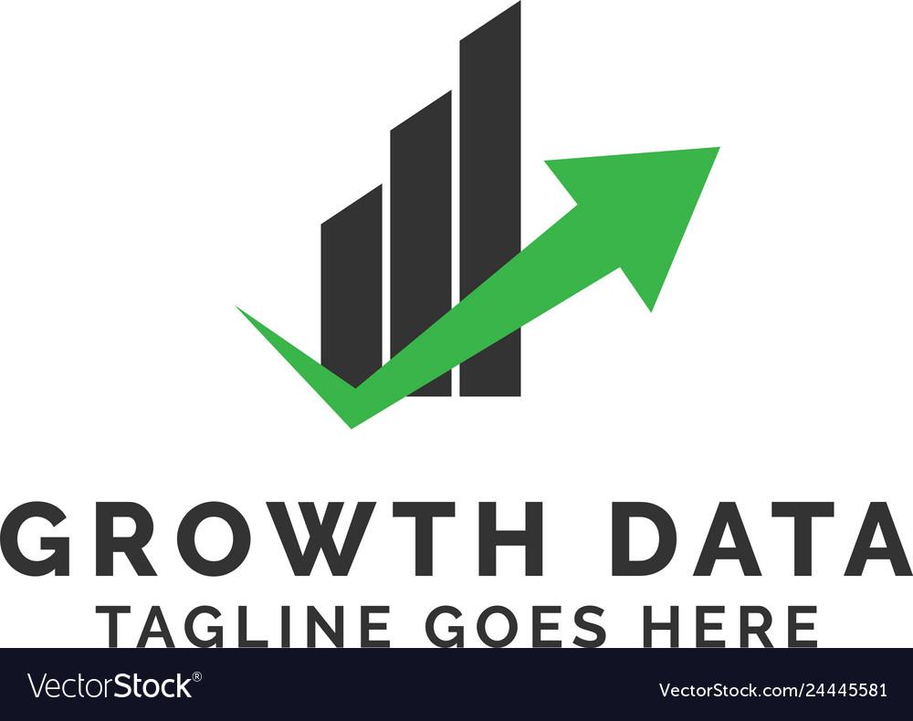 Growth data logo design inspiration