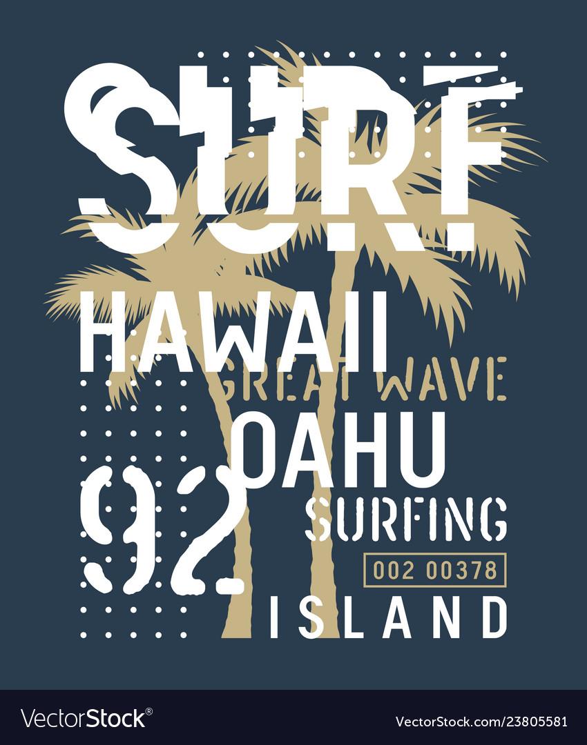 Surfing print 027