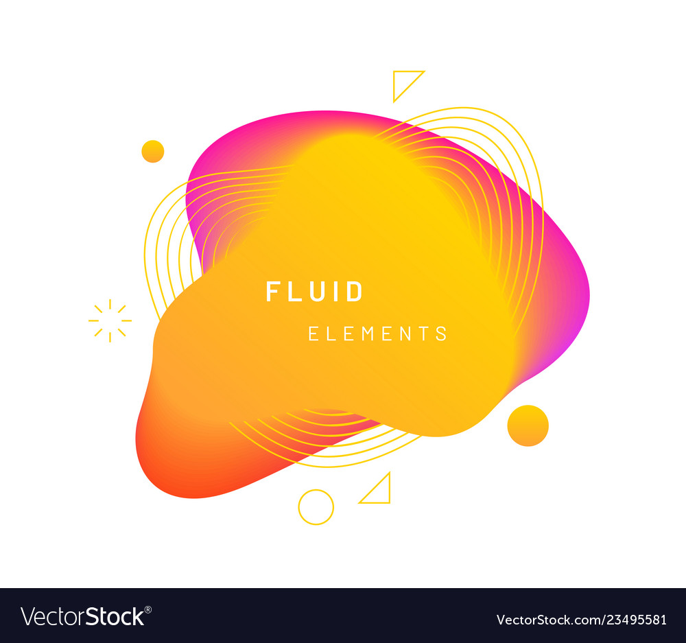 Yellow dynamic light on fluid blotch