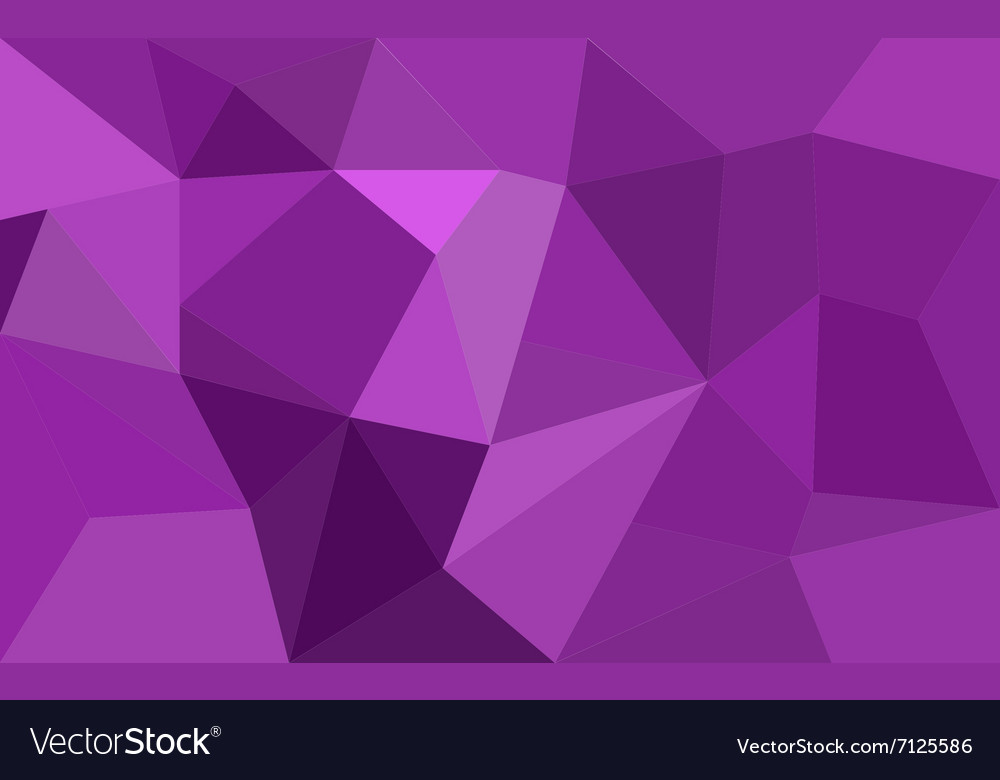 Purple low poly background