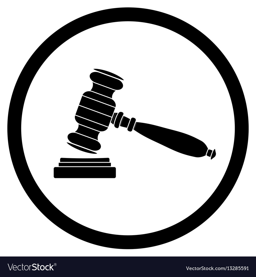 Gavel icon black