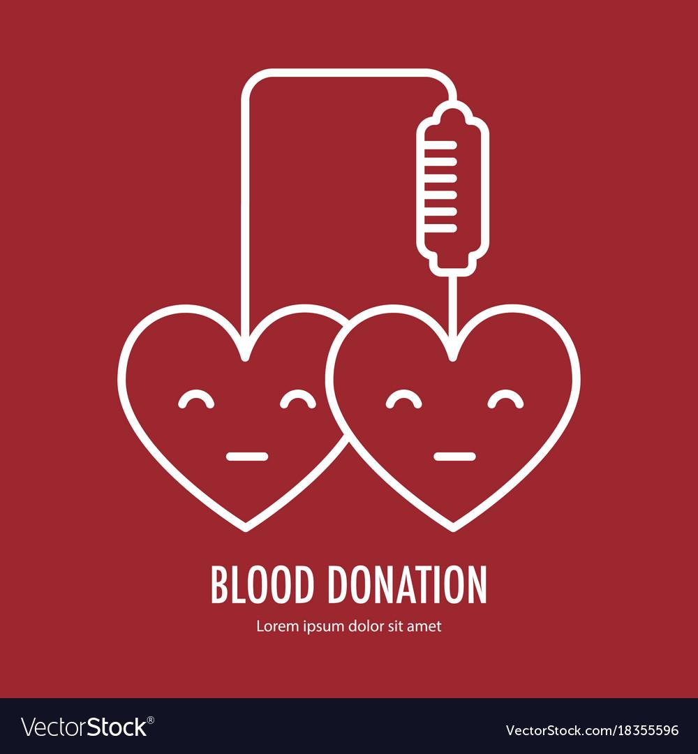 Donate blood design