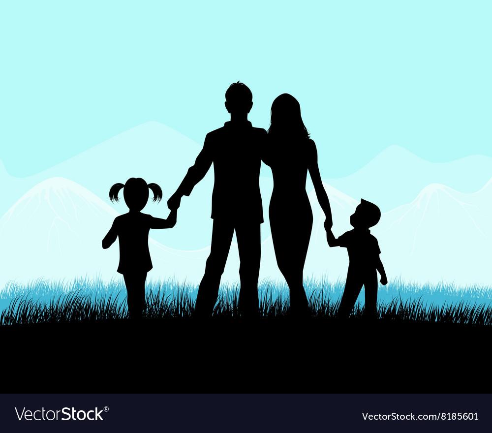 дореволюционное силуэт семьи тату фото простые