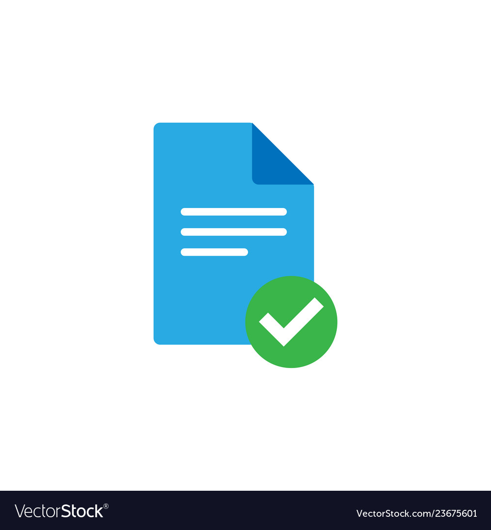 Document icon graphic design template