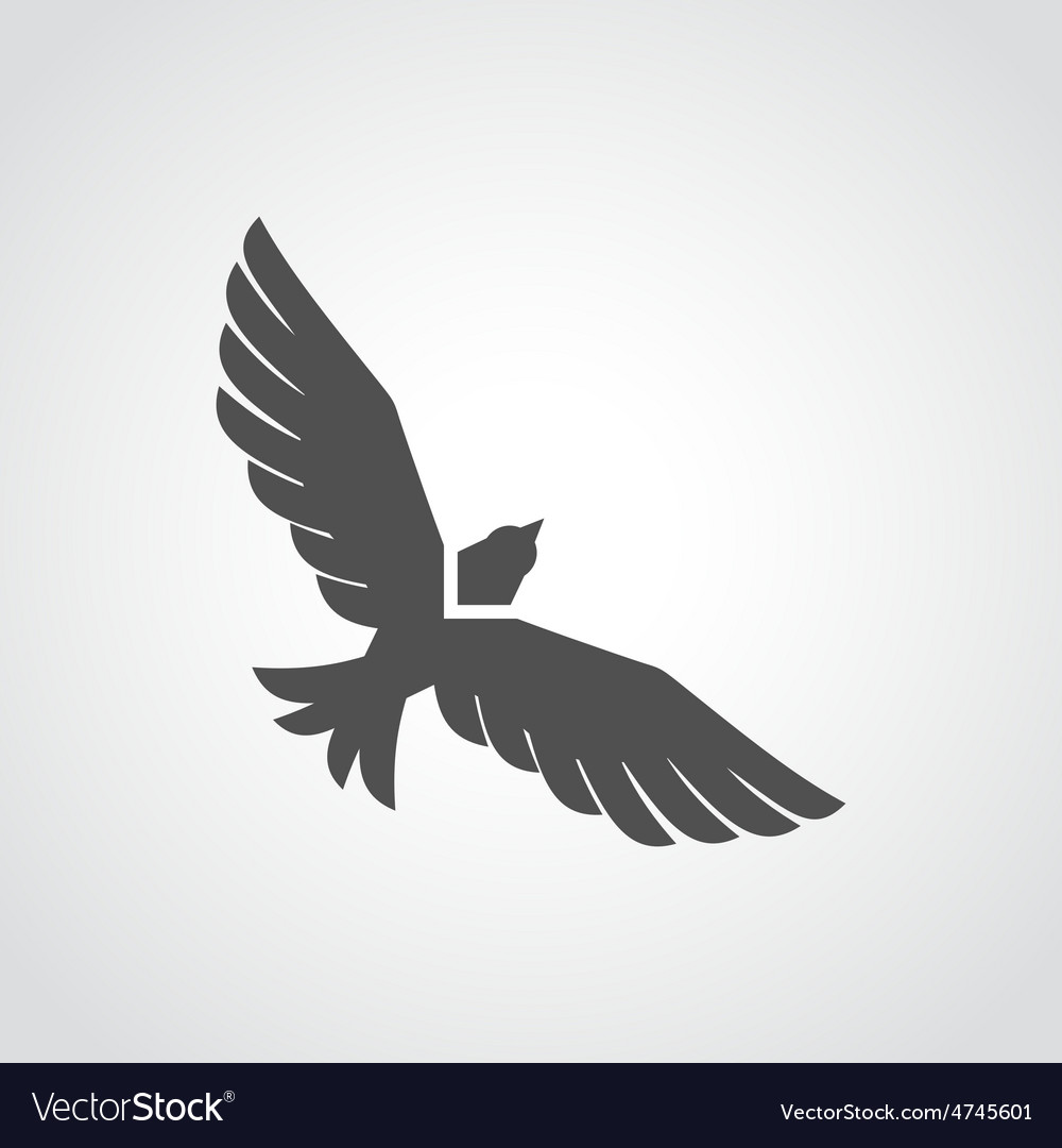 Flying eagle icon royalty free vector image vectorstock flying eagle icon vector image altavistaventures Gallery