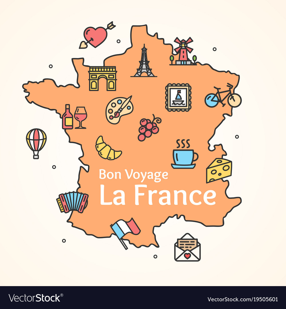 Best photos of outline map of france blank map of france with.