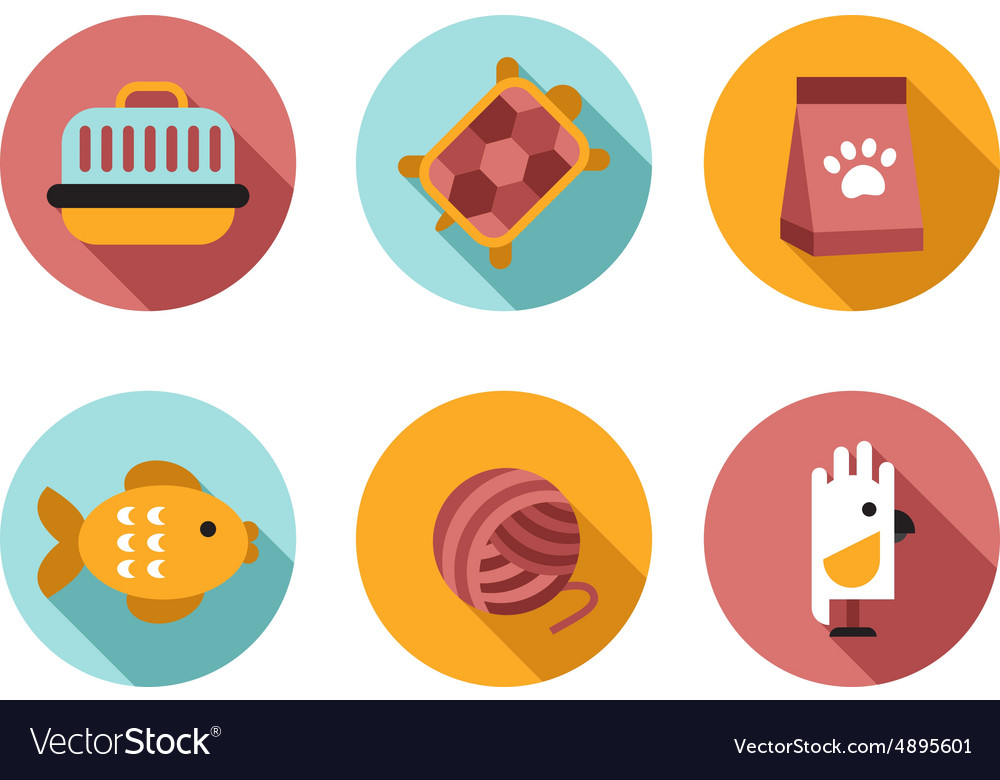 Web icon set Pet Vet Pet Shop