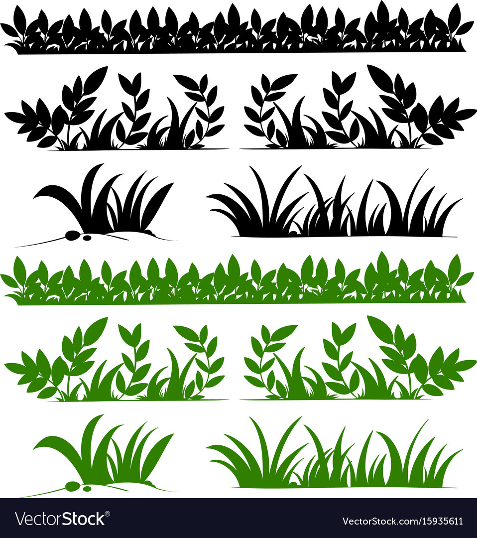 Doodles design for grasses
