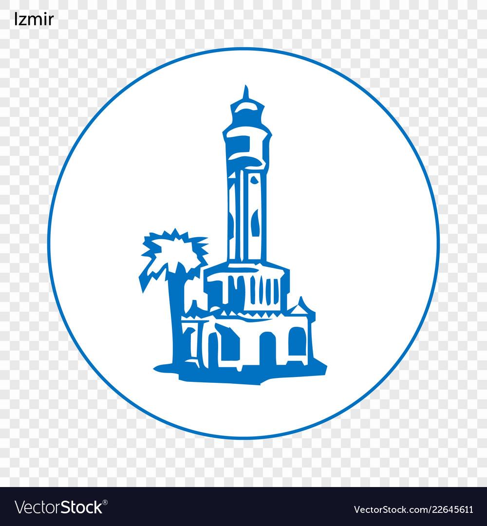 Emblem Of Izmir Royalty Free Vector Image Vectorstock