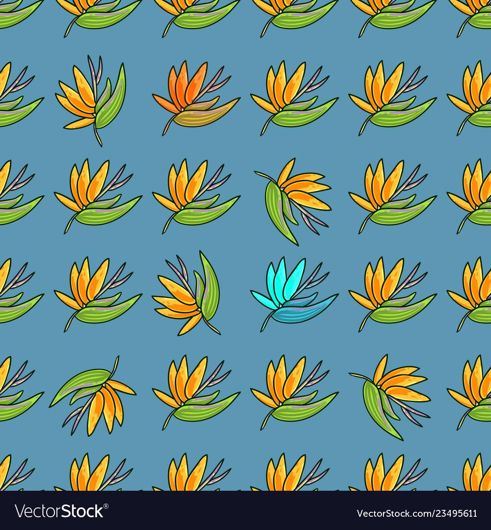 Hand drawn beautiful seamless pattern world