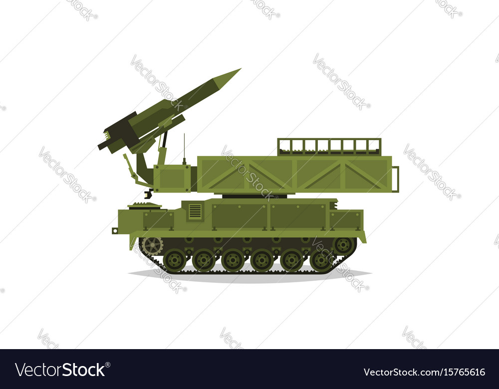 Anti-aircraft missile system rockets and shells