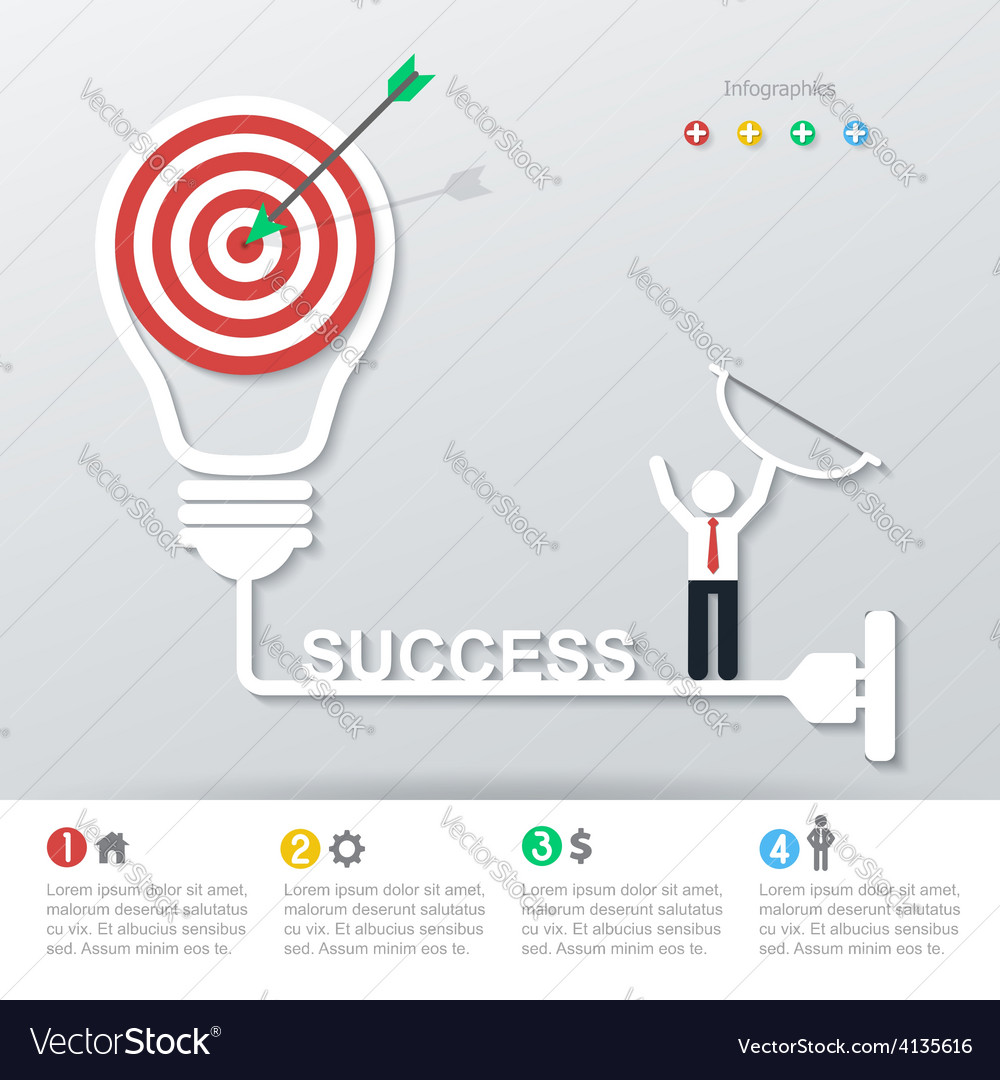 Business concept infographics