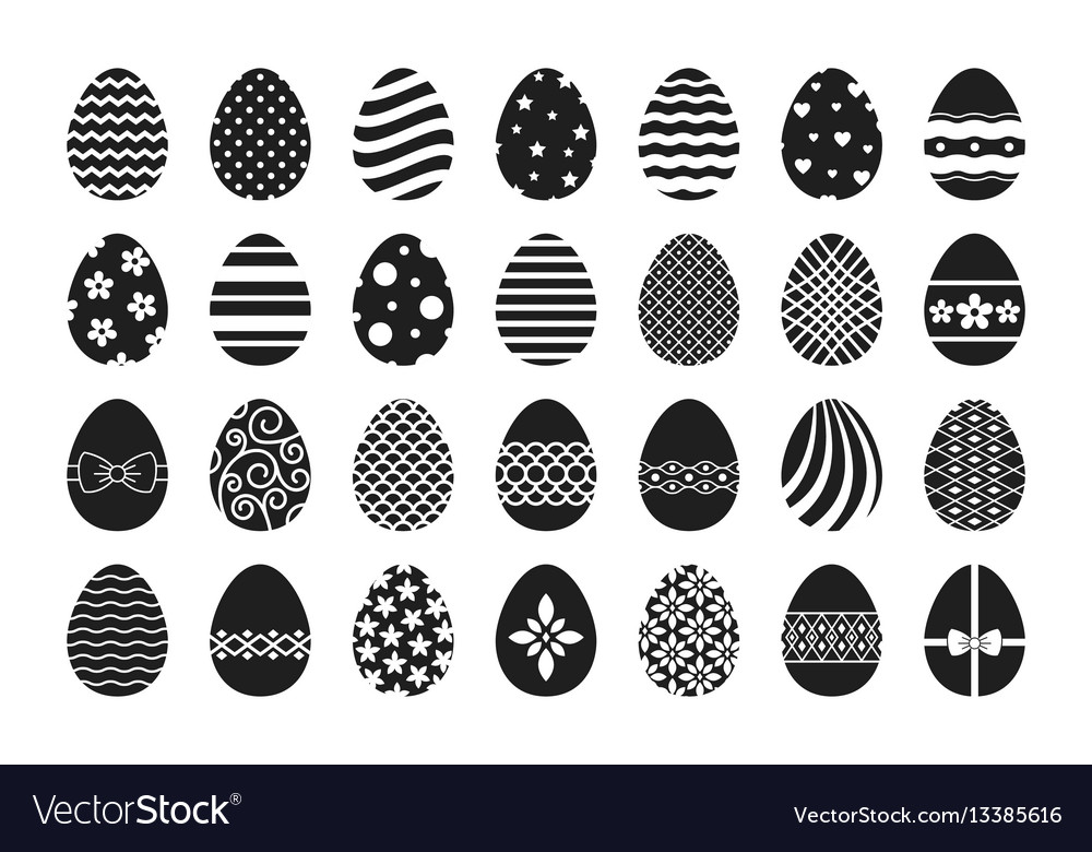 Easter egg icons
