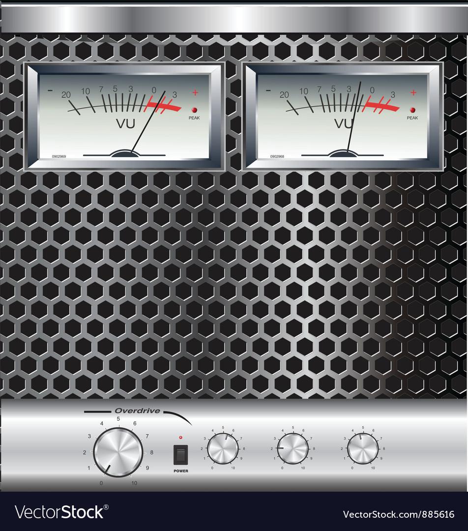Analog Vu Meter Vector Images 40 Audio Power