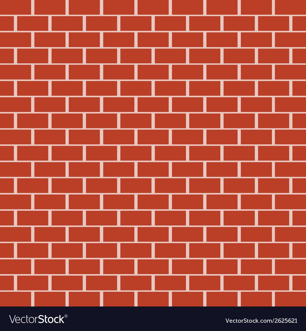 Brick pattern vector image
