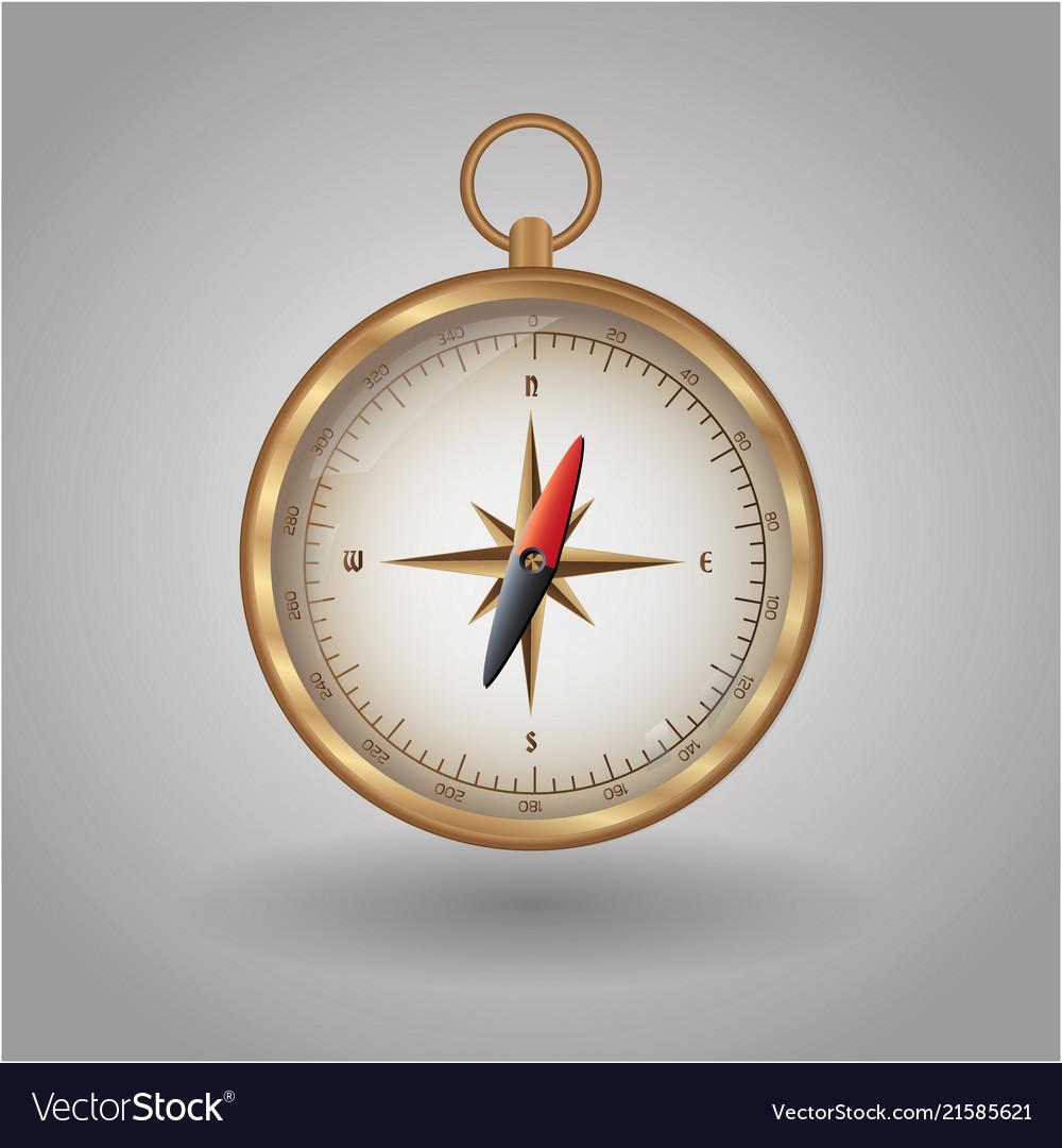 Compass map direction navigation travel