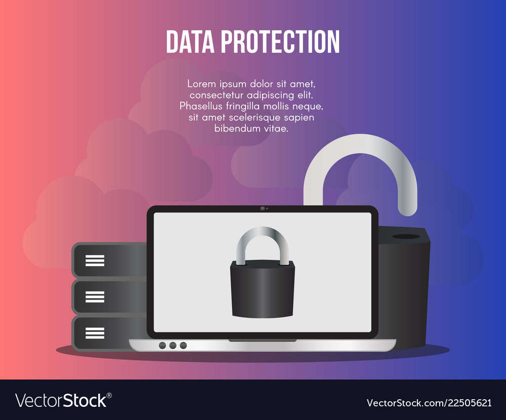 Data protection concept design template
