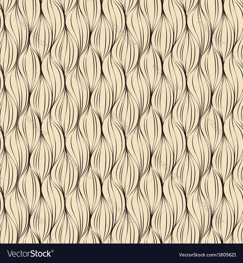 Seamless pattern made of brown lines