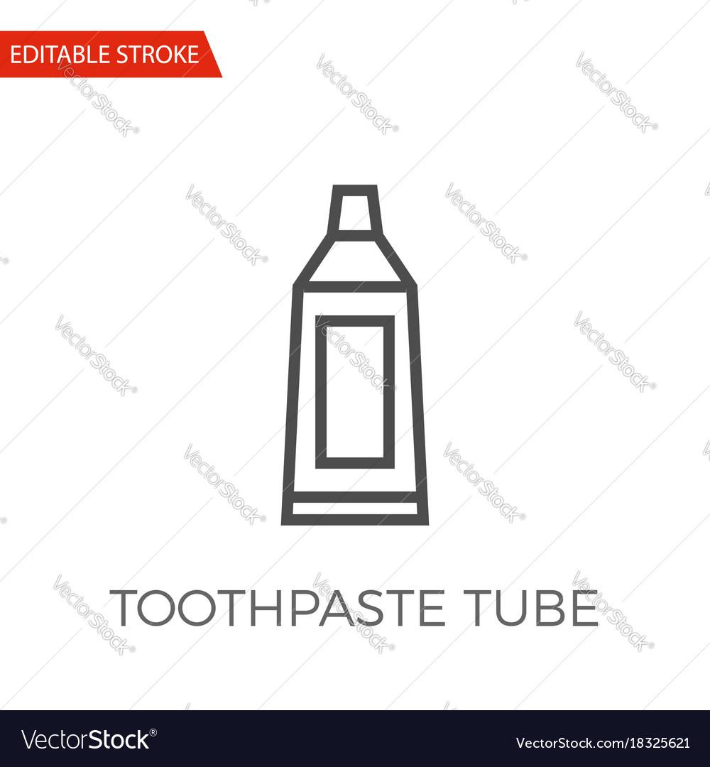 Toothpaste tube icon