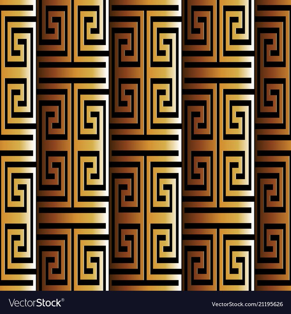 3d greek seamless pattern