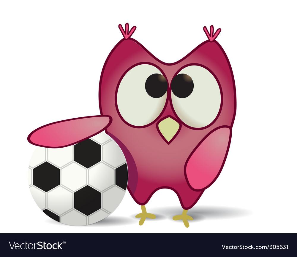 Ball and owl