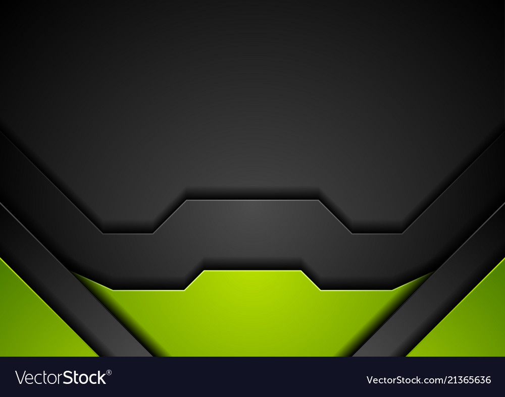 Abstract Green And Black | Wallpapers Maniac