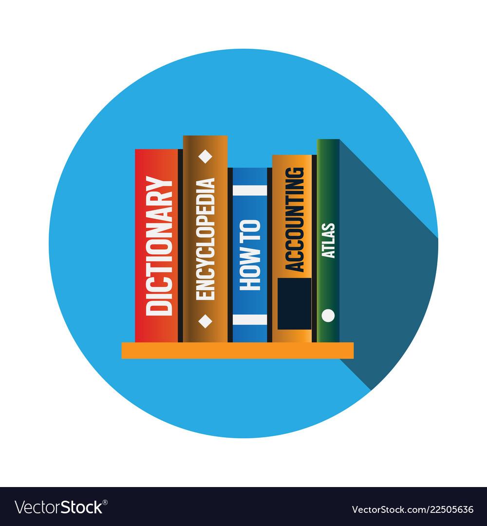 Books logo icon design template
