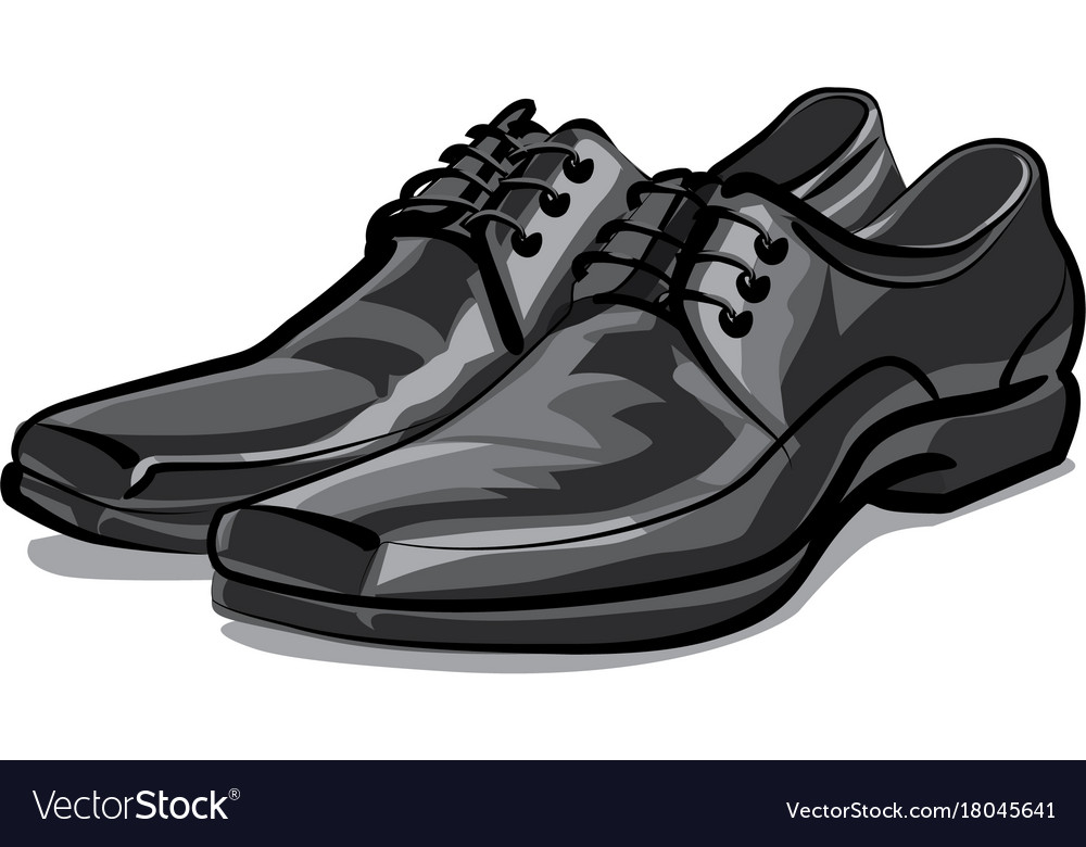 classic men shoes royalty free vector image vectorstock rh vectorstock com vector shield vector shop