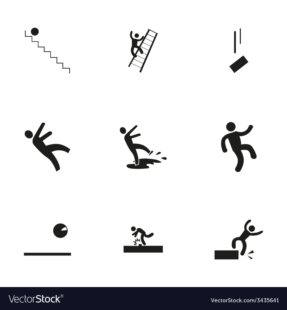 Fall icon set
