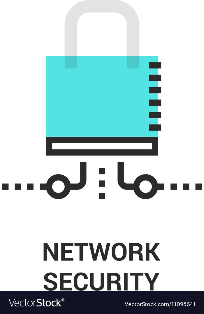 Newtwork security icon