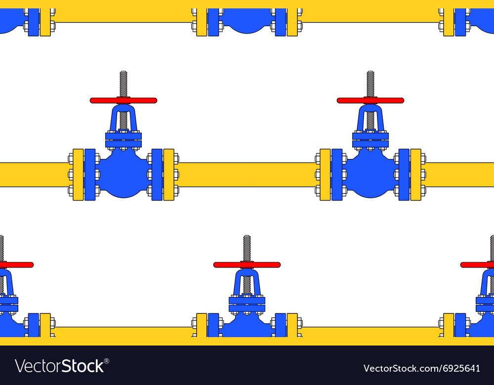 Pipeline valve pattern