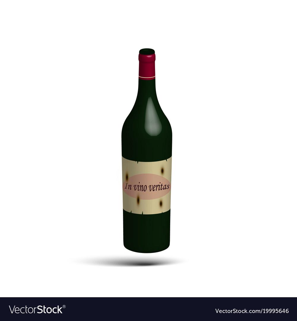 Bottle of vine