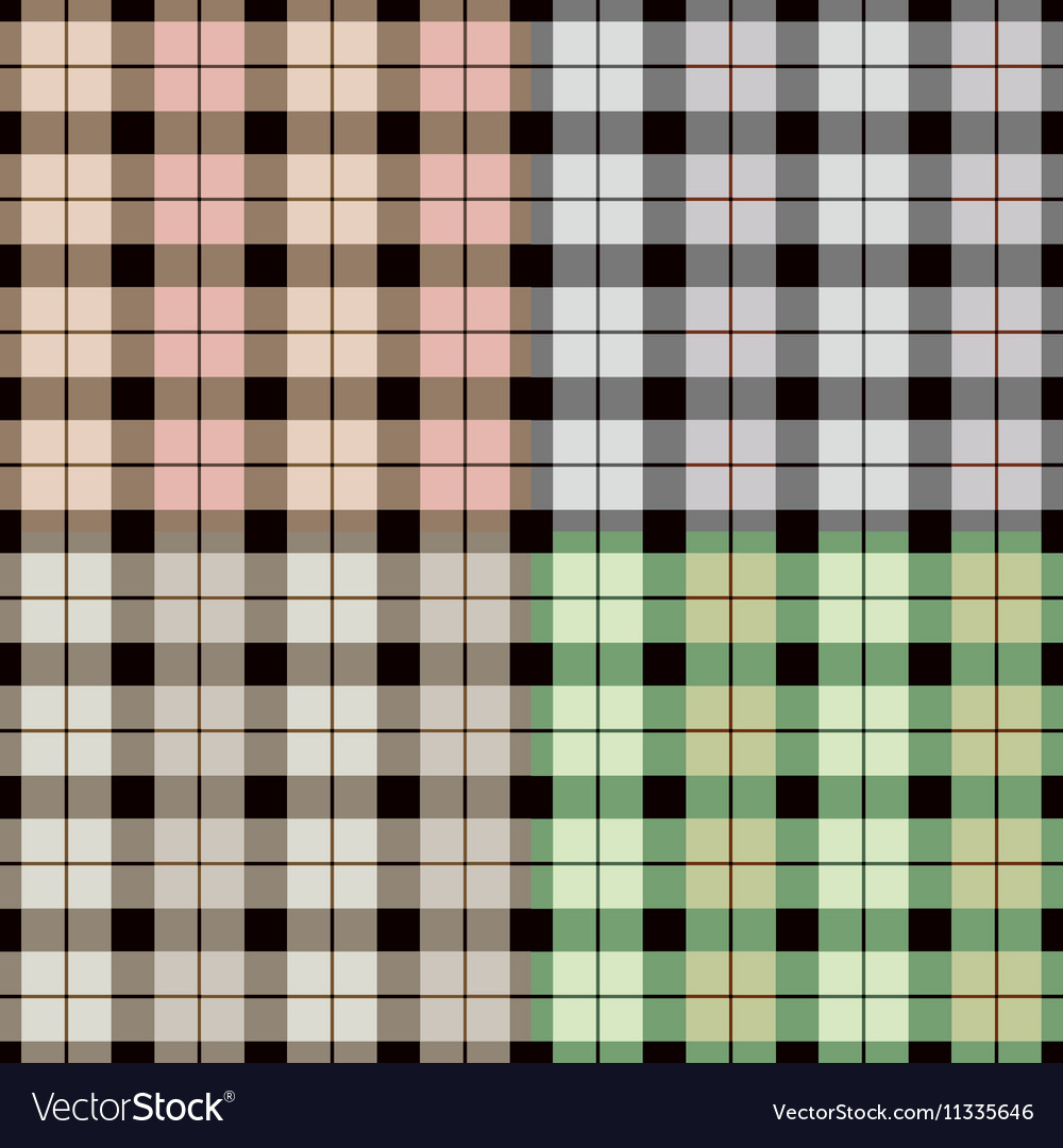 Isolated abstract colorful checkered background
