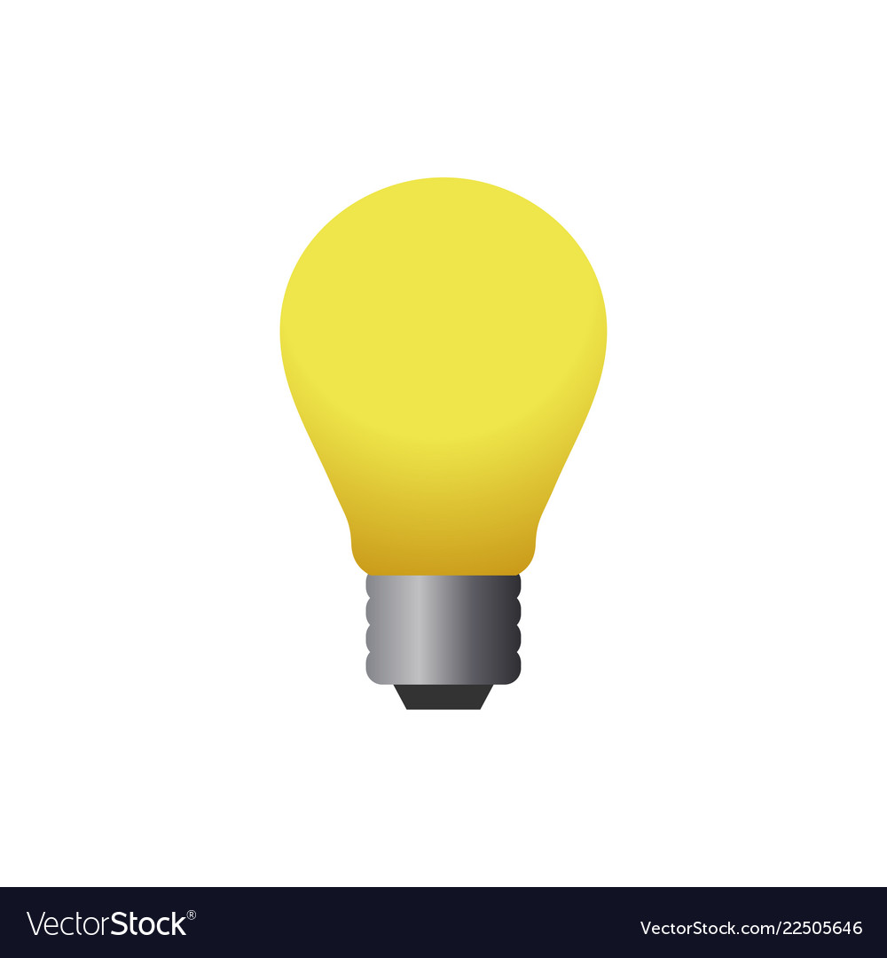 Lamp logo icon design template